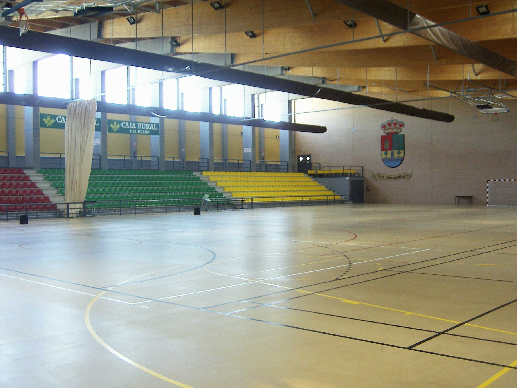 Pabellón Polideportivo La Cistérniga.