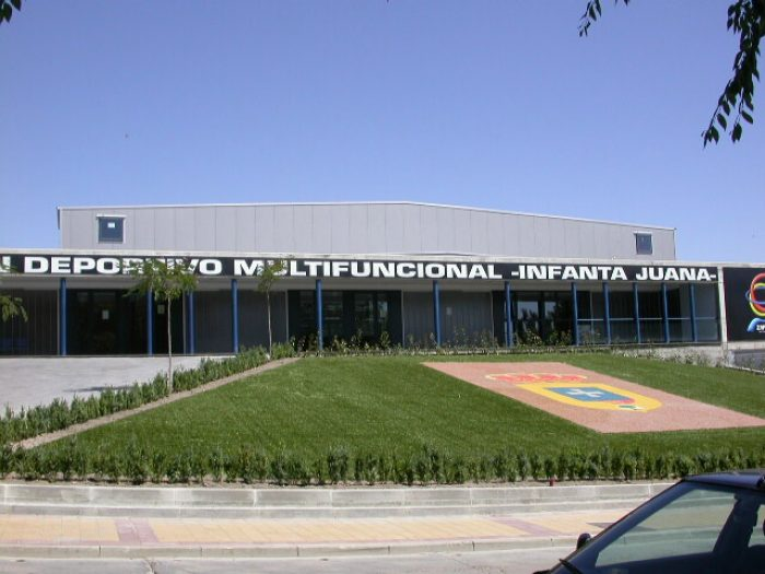 Pabellón Polideportivo Infanta Juana.
