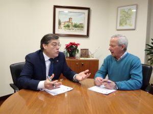 Carlos Sainer y Román Rodríguez.