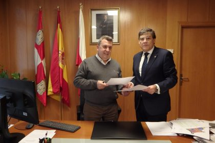 José Manuel Barrio y Carlos Sainer.